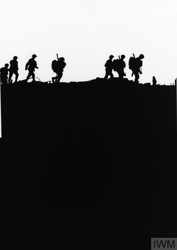 Soldiers in Silhouette IWM (Q3014A) Imperial War Museum