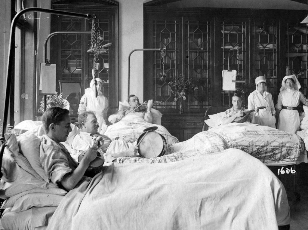 Ballroom Ward, 1922.