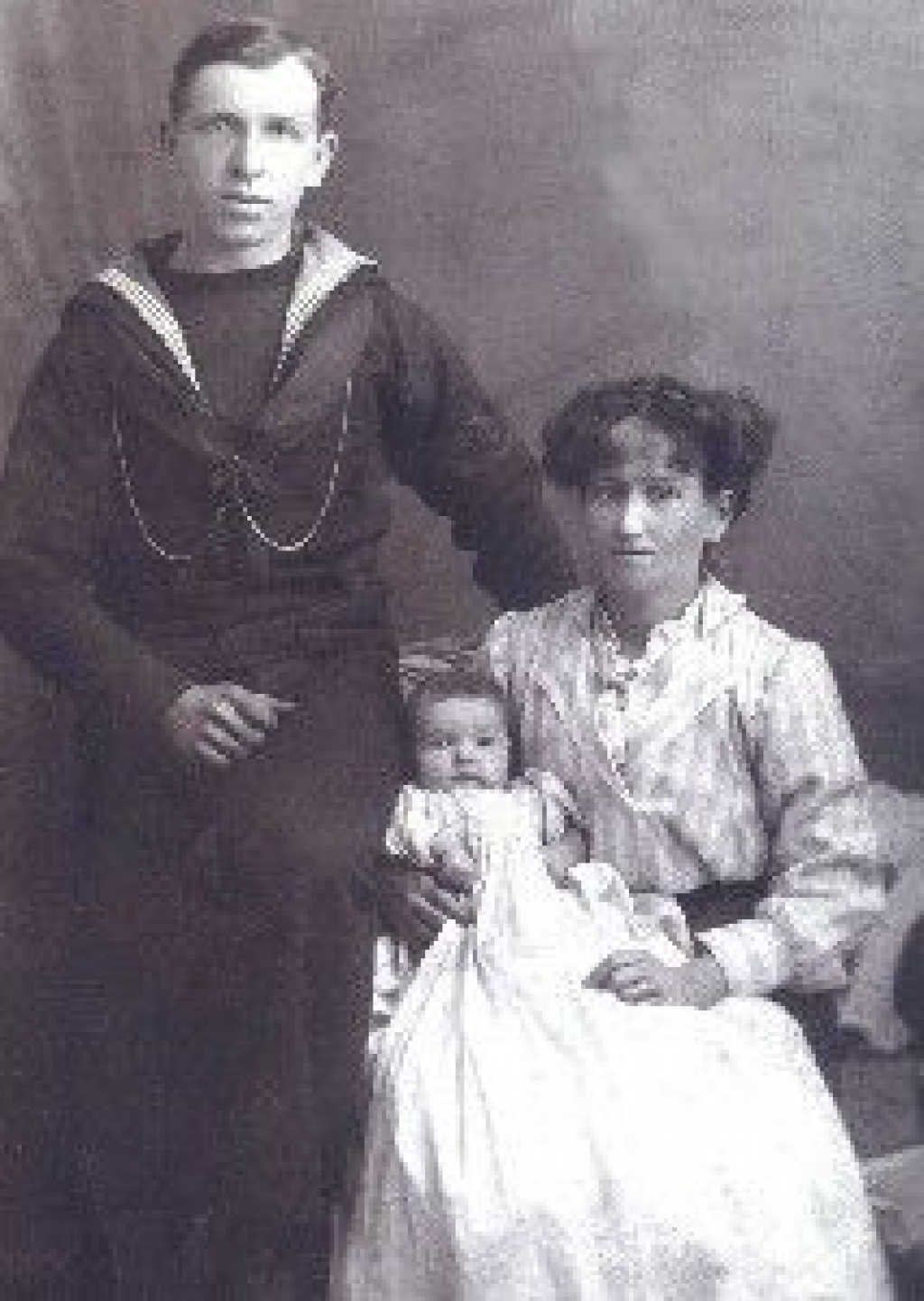 P.O. Thomas Ernest Neal  (pictured with wife Maud, and daughter Winifred) Petty Officer Neal was killed on HMS Invincible  Maud and Winifred were resident at 14 Lucknow St., Fratton, Portsmouth, Courtesy of Mrs J Newcombe