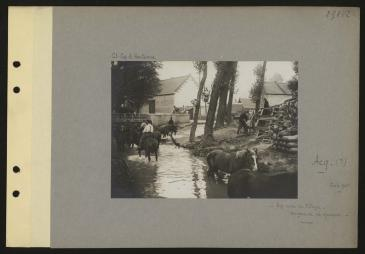 The village of Acq June 1915