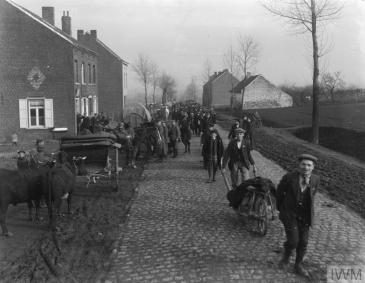 Photo Liberation of Belgium November 1918