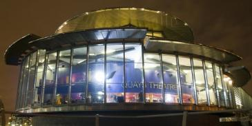 The Quays Theatre, The Lowry, used under Creative Commons licence (APAC)