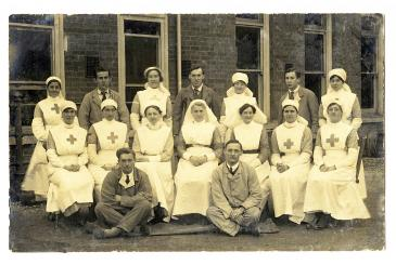 Staff and Patients at No.3
