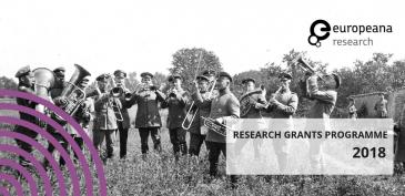 Military band - photographer unknown, 1915, Rolf Kranz/Europeana